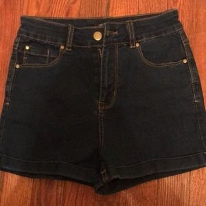 Size small high waisted shorts